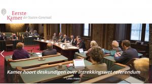 BCNL is aanwezig bij voorbereidend onderzoek Intrekkingswet WRR 1e kamer @ binnenhof  Den Haag   1e kamer  | Den Haag | Zuid-Holland | Nederland
